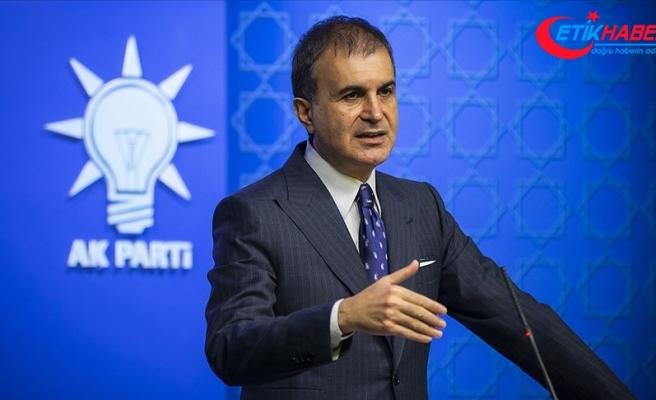 AK Parti Sözcüsü Çelik: CHP sözcüleri hala yalan siyasetini sürdürmeye devam ediyor