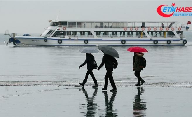 Batı Anadolu için kuvvetli yağış ve fırtına uyarısı
