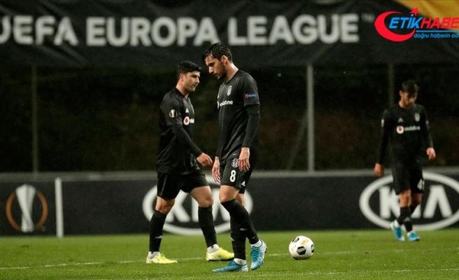 Beşiktaş son 32 turuna çıkma şansını yitirdi