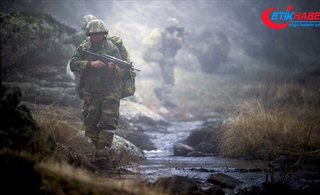 Biri gri kategoride aranan 4 PKK'lı terörist teslim oldu