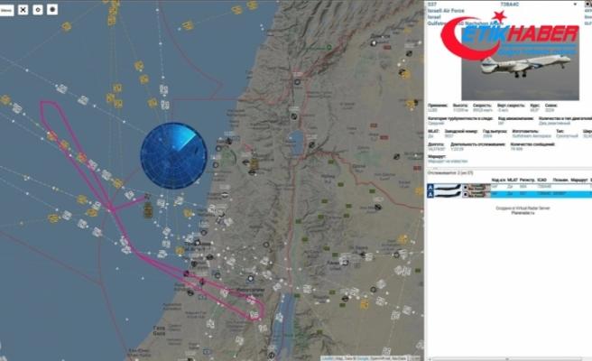 Bu kez İsrail uçakları Suriye'deki Rus askeri üslerini gözlemledi