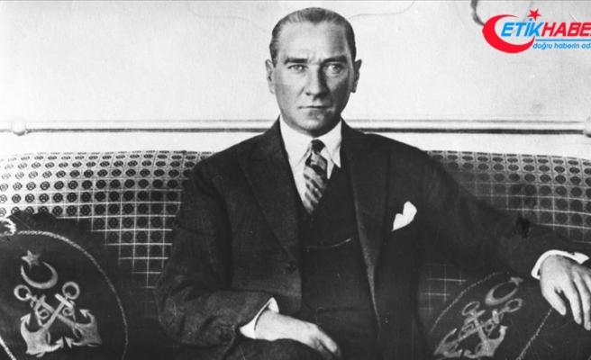 Büyük Önder Atatürk 81 yıldır özlemle anılıyor