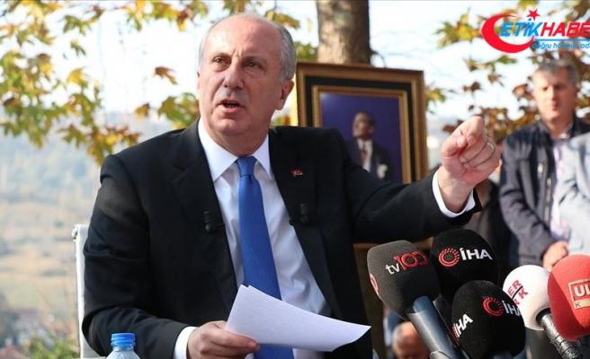 CHP'li İnce'den Cumhurbaşkanı Erdoğan'la görüştüğü iddialarına yanıt