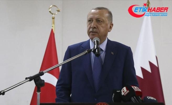 Cumhurbaşkanı Erdoğan: Hiç kimse ülkemizin bu coğrafyadaki mevcudiyetinden rahatsız olmamalı