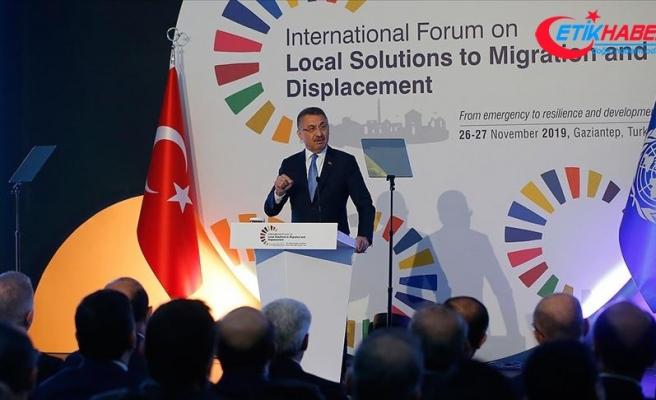Cumhurbaşkanı Yardımcısı Oktay: Suriye'de terörden temizlenen bölgelere 370 bin kişi dönüş yaptı