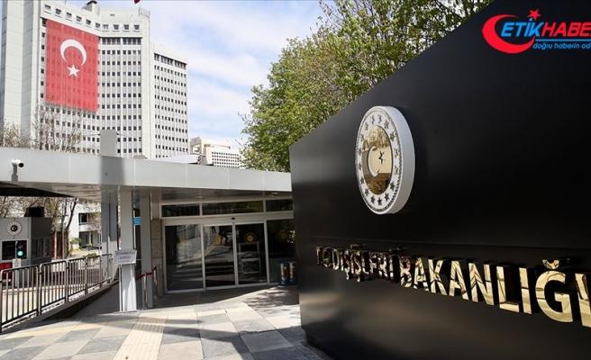 Dışişleri Bakanlığı: Türkiye'nin Doğu Akdeniz'de geri adım atmasını ummak beyhudedir