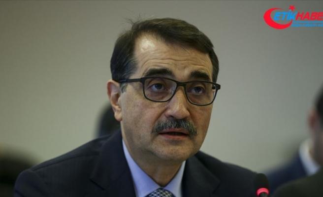 Enerji ve Tabii Kaynaklar Bakanı Dönmez: Doğu Akdeniz'de dördüncü sondajı yapıyoruz