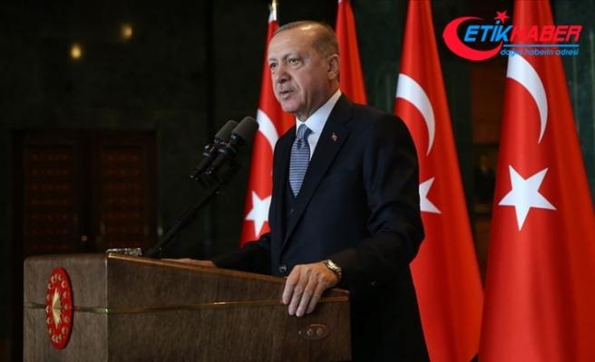Erdoğan: Kadına yönelik şiddeti el birliğiyle ülkemizden tamamen sileceğiz