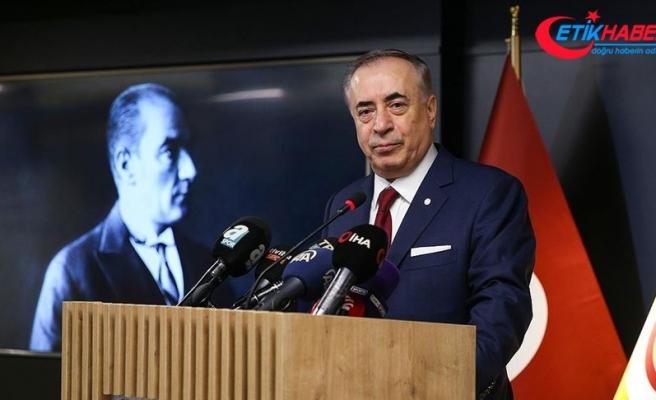 Galatasaray Kulübü Başkanı Mustafa Cengiz, şampiyonlukta iddialı