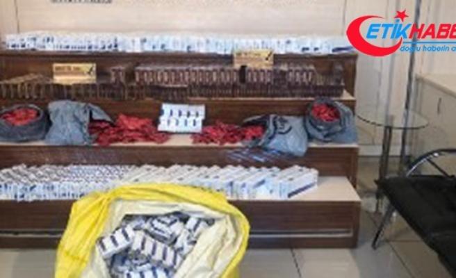Gaziantep'te 2 bin 300 paket kaçak sigara ele geçirildi