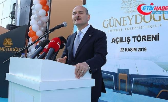 İçişleri Bakanı Soylu: Biz bir yeri sömüren bir devlet olmadık hiçbir zaman