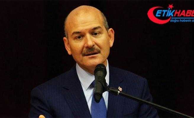 """İçişleri Bakanı Soylu: """"Türkiye'de inşaatı devam eden afet konutu sayısı 3 bin 108"""""""