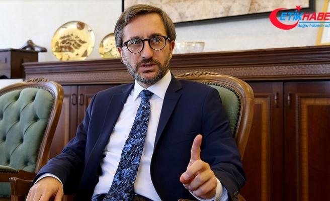 İletişim Başkanı Altun: Türkiye terörle mücadele etmede kararlıdır