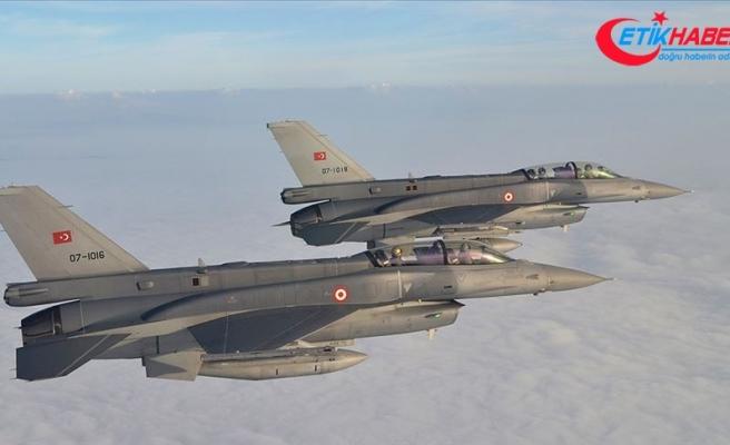 Irak'ın kuzeyinde PKK'lı 4 terörist etkisiz hale getirildi