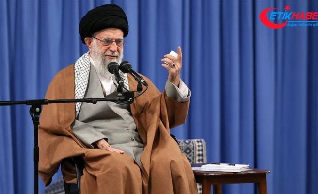 İran lideri Hamaney: Gösteriler tehlikeli bir komploydu