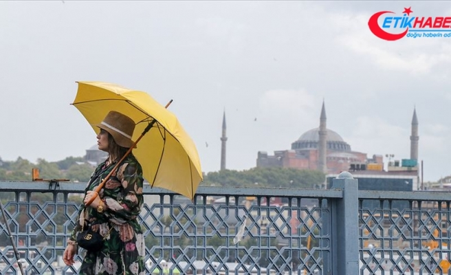 İstanbul'da hafif sağanak bekleniyor