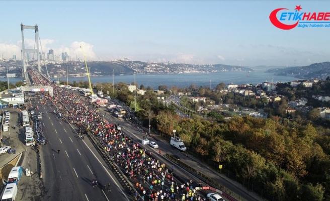 İstanbul Maratonu'na yabancı atlet damgası