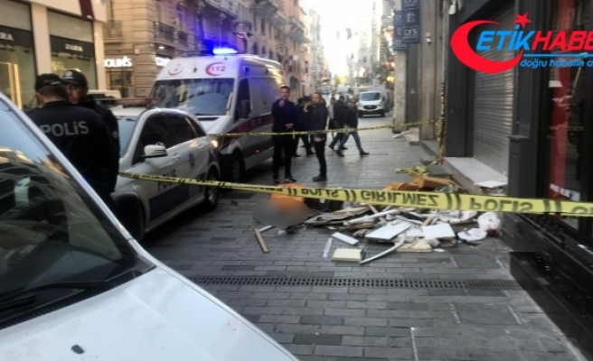 İstiklal Caddesi'nde feci ölüm