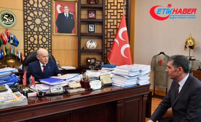 MHP Lideri Bahçeli TÜRKGÜN'e konuştu: CHP'ye Atatürk'ün ahı tuttu