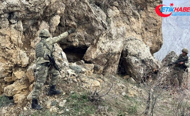 MSB: Irak'ın kuzeyinde 7 PKK'lı terörist etkisiz hale getirildi