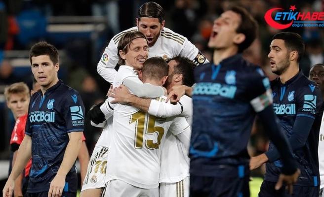 Real Madrid sahasında kazandı