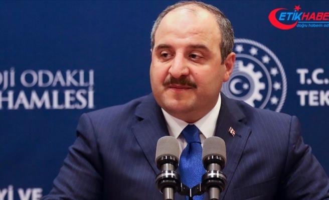 Sanayi ve Teknoloji Bakanı Varank: Topyekün kalkınmış bir Türkiye hedefimiz var