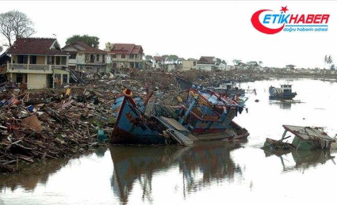 Son yüzyıl tsunamileri yaklaşık 260 bin can aldı