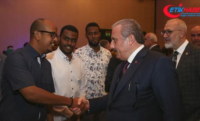 TBMM Başkanı Şentop: Türkiye'nin Afrika ülkelerine bakışı diğer ülkelerden çok farklı