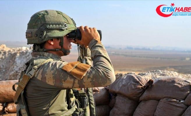 Teröristler Barış Pınarı Harekatı bölgesine 24 saatte 8 taciz ve saldırı gerçekleştirdi
