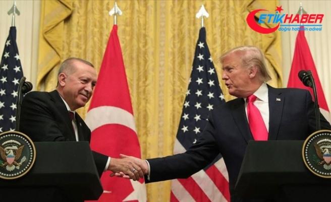 Trump'tan Erdoğan'a Suriye konusunda teşekkür