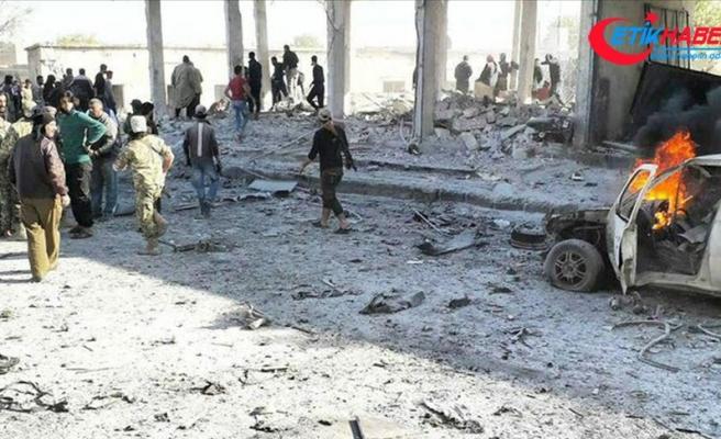 YPG/PKK Tel Abyad'da bombalı araçla saldırı düzenledi