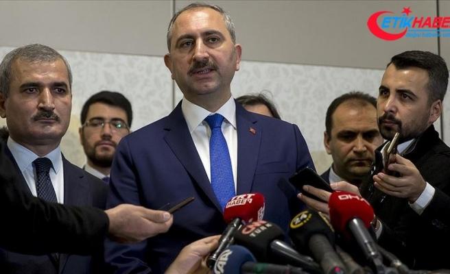 Adalet Bakanı Gül: Doğu Akdeniz'de uluslararası hukukun gerektirdiği tüm adımları attık