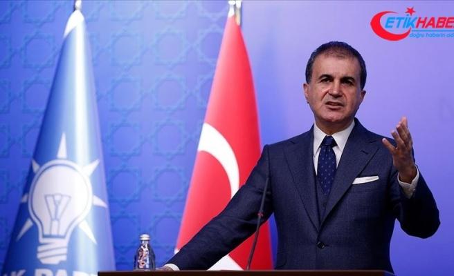 AK Parti Sözcüsü Ömer Çelik: Türkiye Akdeniz'de örülmeye çalışılan duvarı Libya muhtırası ile yok etmiştir