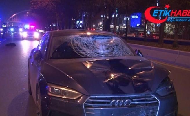 Ankara'da otomobilin çarptığı çocuk hayatını kaybetti