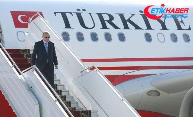 Cumhurbaşkanı Erdoğan Malezya'daki temaslarının ardından yurda döndü