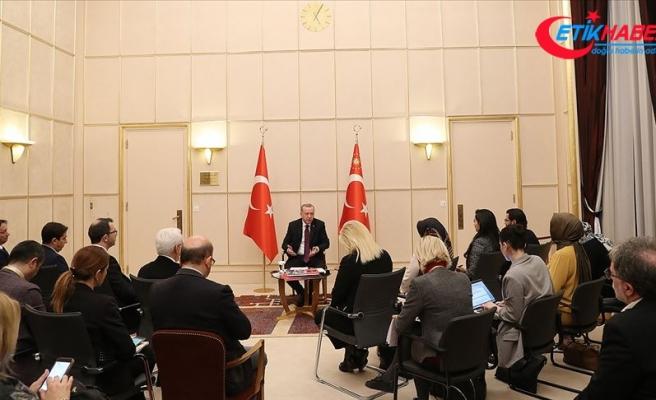 Cumhurbaşkanı Erdoğan: Kalkınmış ve zengin Batılı ülkeler mülteci krizinde sınıfta kaldı