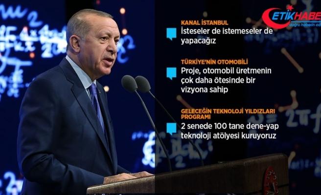 Cumhurbaşkanı Erdoğan: Türkiye'nin otomobili için siparişleri almaya başladık