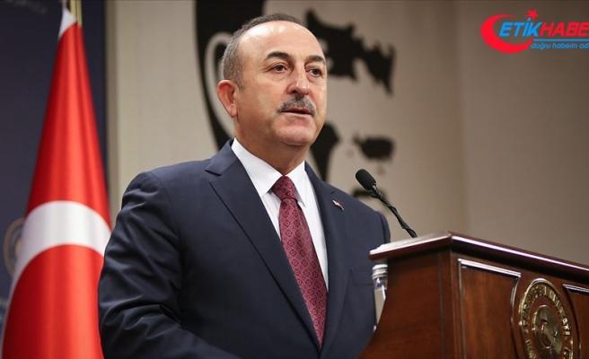Dışişleri Bakanı Çavuşoğlu: Yunanistan Türkiye ile diyalogdan kaçınıp AB'nin kör desteğine güvenmesin