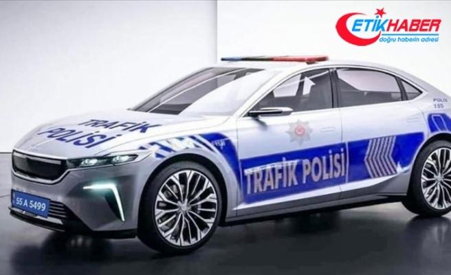 EGM'den ekip otosu fotoğrafıyla 'Türkiye'nin Otomobili' paylaşımı