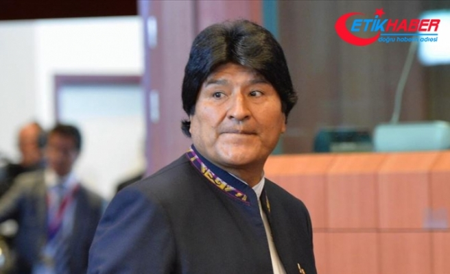 Evo Morales: Kanunen halen devlet başkanıyım