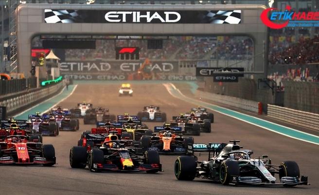 Formula 1 sezonu Abu Dabi'de sona erecek