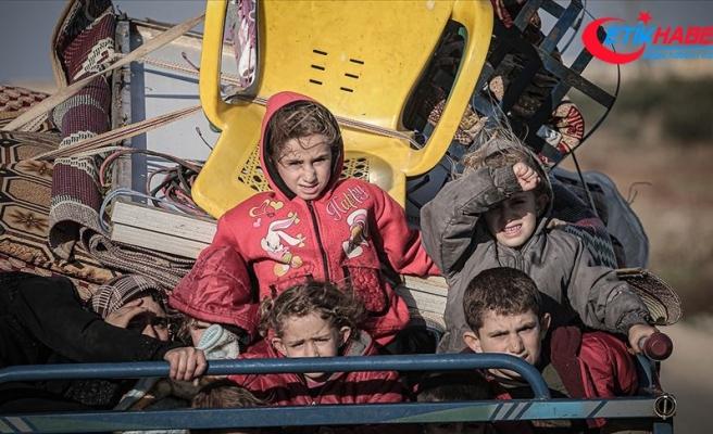 İdlib'de son 2 günde 25 bin sivil daha yerinden edildi