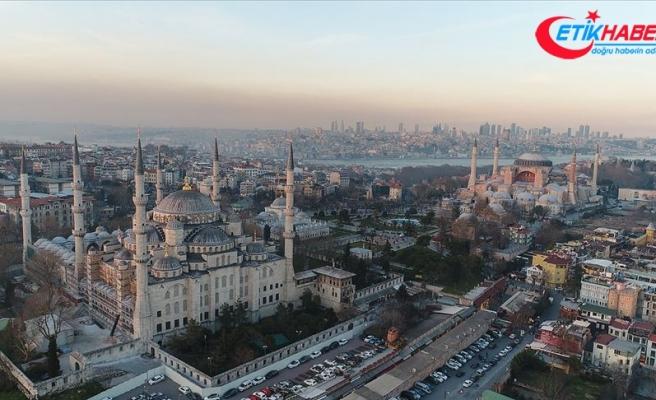 İstanbul'un turist sayısı son 5 yılın zirvesine ulaştı