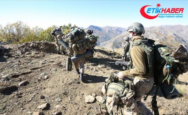 'Kıran-7 Munzur Vadisi Operasyonu' 2 bin 250 personelin katılımıyla devam ediyor