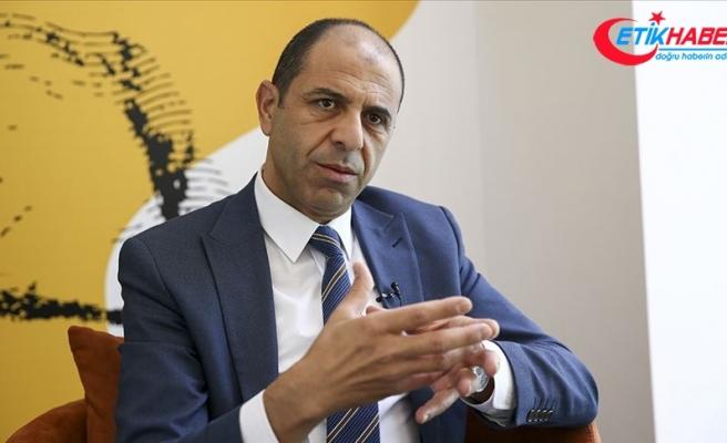 """KKTC Dışişleri Bakanı Kudret Özersay'dan """"Türkiye ile iş birliği yapacağız"""" açıklaması"""