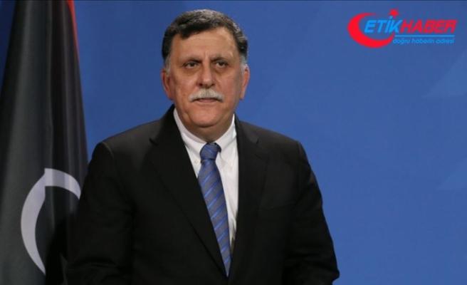 Libya Başbakanı Serrac'dan 5 ülkeye güvenlik anlaşmalarını uygulama çağrısı