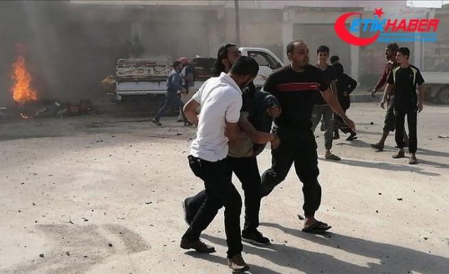 PKK/YPG'nin Cerablus'ta iki motosikleti patlatması sonucu 14 sivil yaralandı
