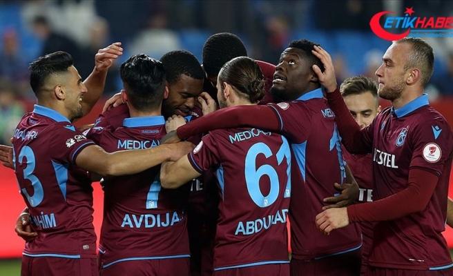 Trabzonspor son 9 sezonun en iyi ilk yarı performansının peşinde