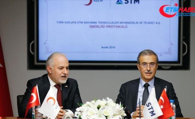 Türk Kızılay ile STM arasında iş birliği protokolü imzalandı