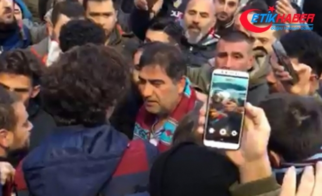 Ünal Karaman Trabzon'dan ayrıldı
